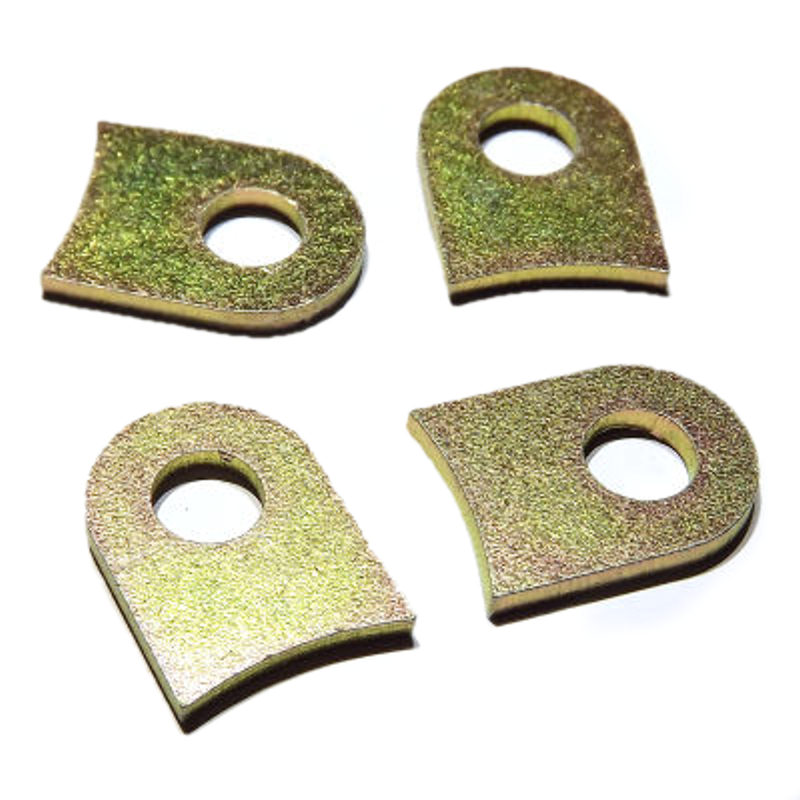 AIR HORN TABs for WEBER 45 DCOE 4 pieces of Ram Pipe trumpet clamp
