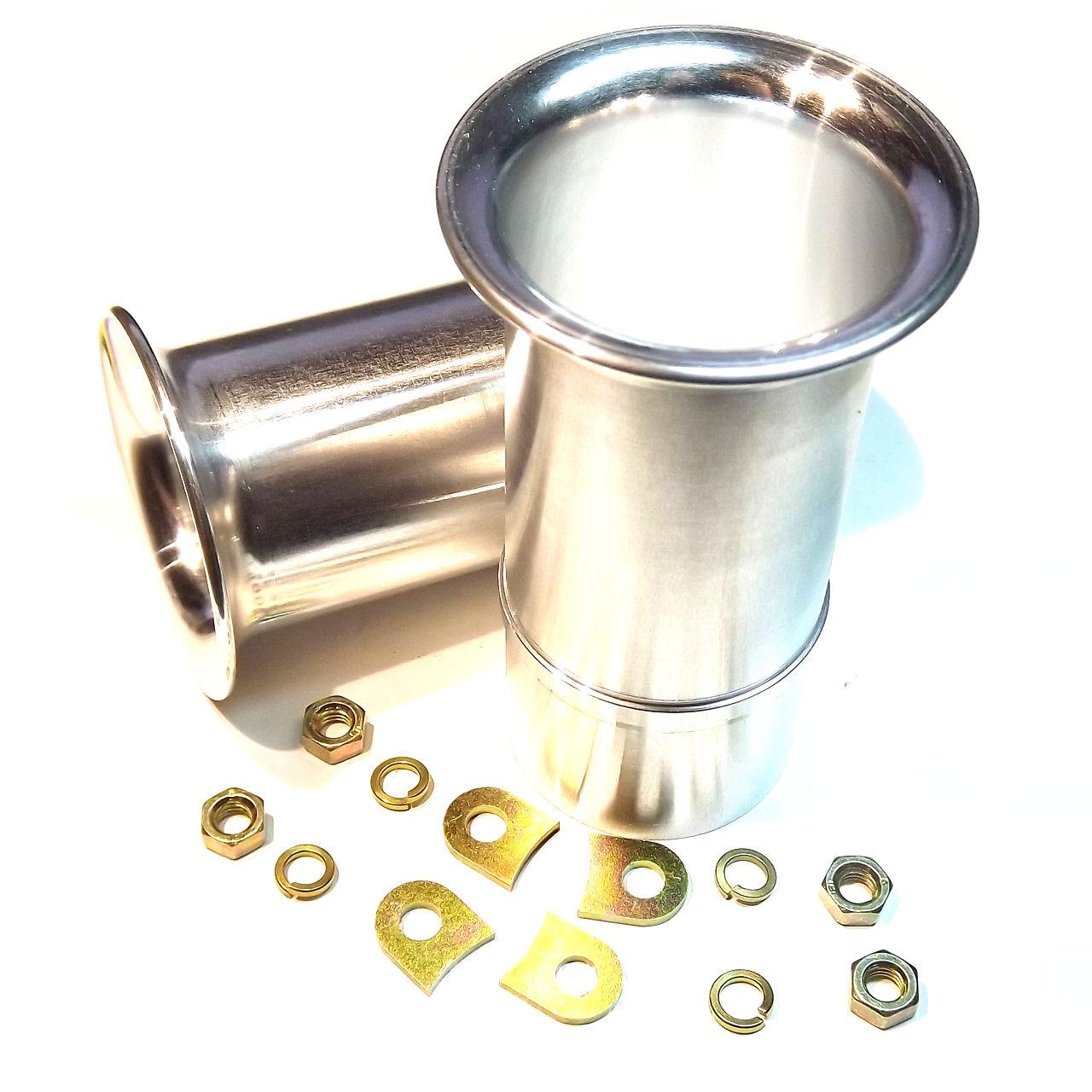 Weber 45 DCOE Carburettor Air Horn 2 Trumpet Lock Tabs