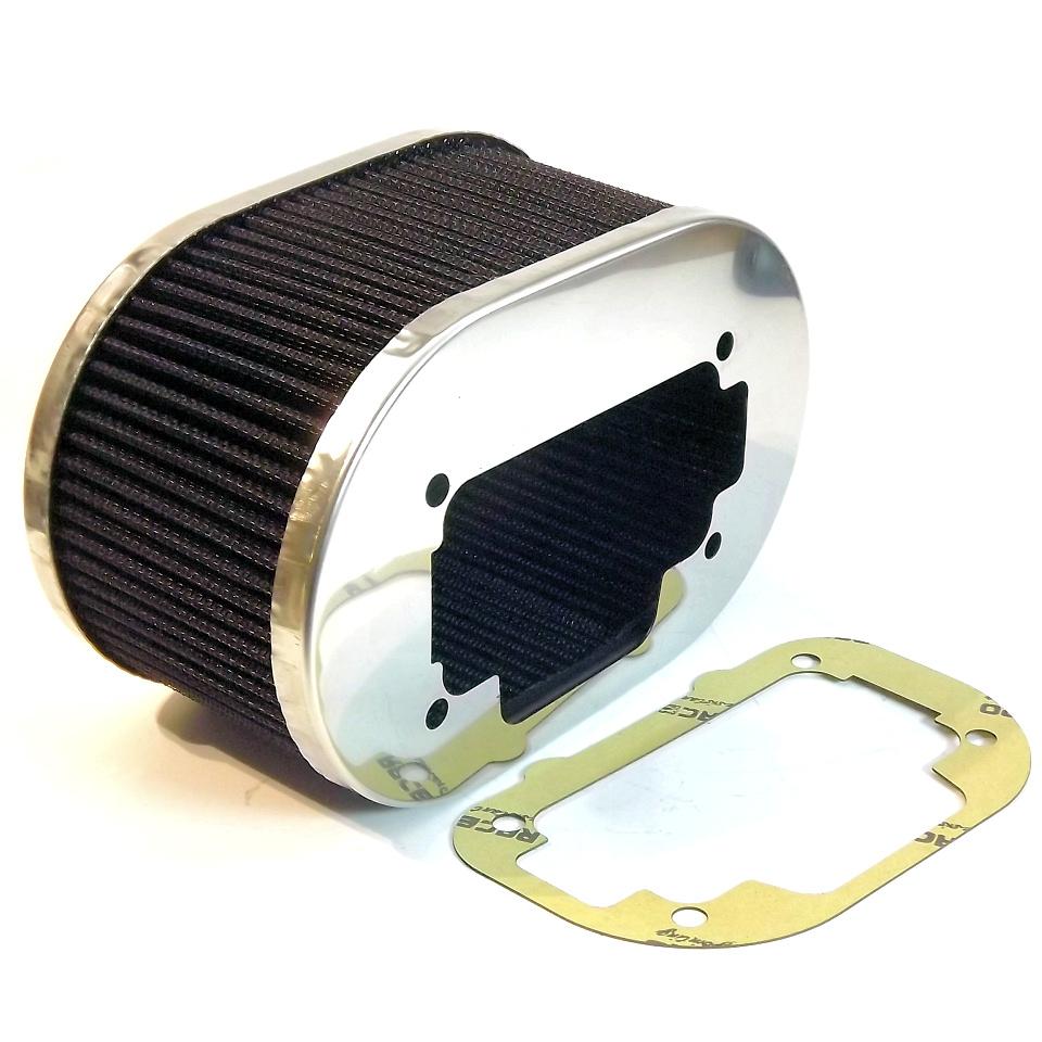 "38 DGS Carburetor AIR FILTER 85mm 3/""1//2 cleaner for WEBER 32//36 DGV"