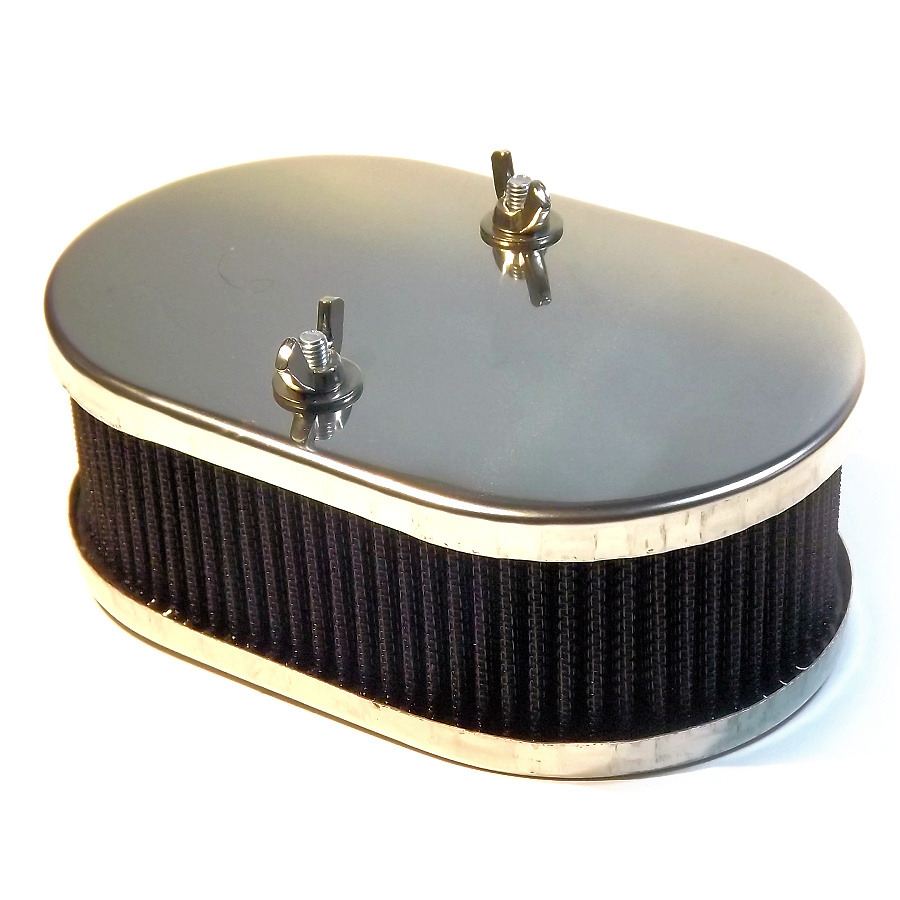 "Carburetor AIR FILTER 45mm 1/""3//4 cleaner Weber 40 DCOE,Solex ADDHE,Dellorto DHLA"