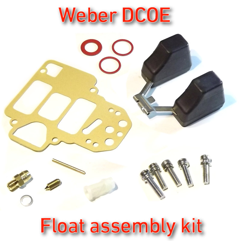 Details about Weber DCOE float assembly kit - fits FAJS/EMPI 38/40/45/48  all in one