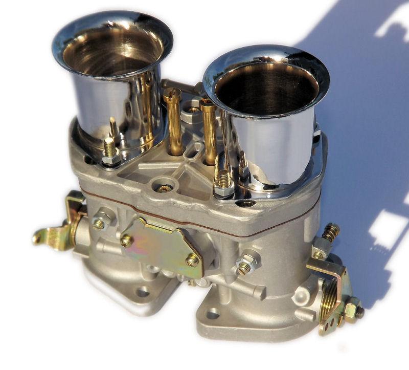 48IDF oem carburetor air horns replacement for Solex Dellorto Weber EMPI 48MM